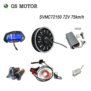QS Motor 13inch 3000W 260 40H V1 48V/72V Brushless DC Electric Scooter Motorcycle Hub Motors