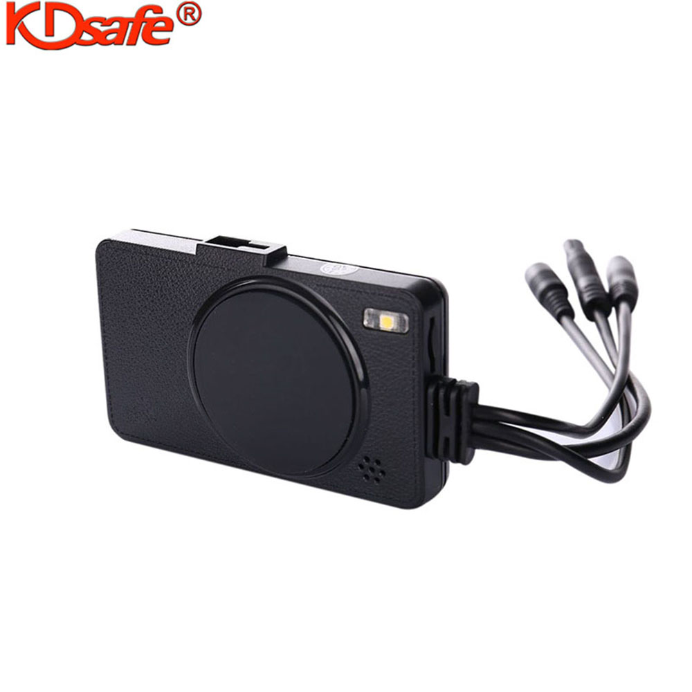 KDsafe HD Motorcycle Dual Camera DVR Motor Dash Cam Waterproof Sport DVR Dual-track Front Rear Moto Driving Recorder Cycle Video 2