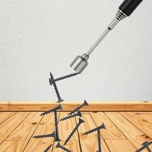 Портативный Телескопический Магнитный палочки Железный инструмент для крепления палки Регулируемая длина палочки винты сильнейшие постоянные магниты инструменты