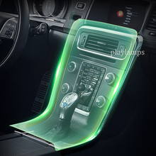 Car Interior Films For Volvo V60 Door Handle control panel TPU films decoration Stickers auto accessories aginse2 films for photovoltaic application