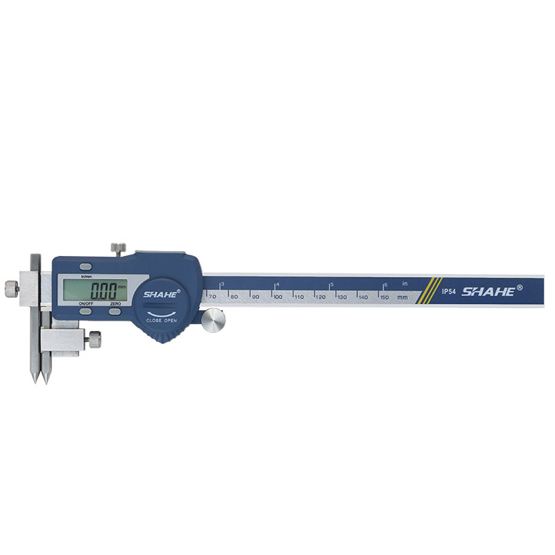 Tools : stainless steel electronic digital vernier caliper 5-150 mm digital center distance caliper paquimetro digital micrometer