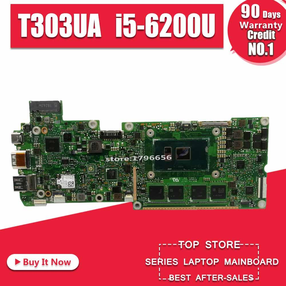 T303UA Motherboard I5-6200U For Transformer 3 Pro ASUS T303U T303UA Laptop Motherboard T303UA Mainboard (Exchange)! !