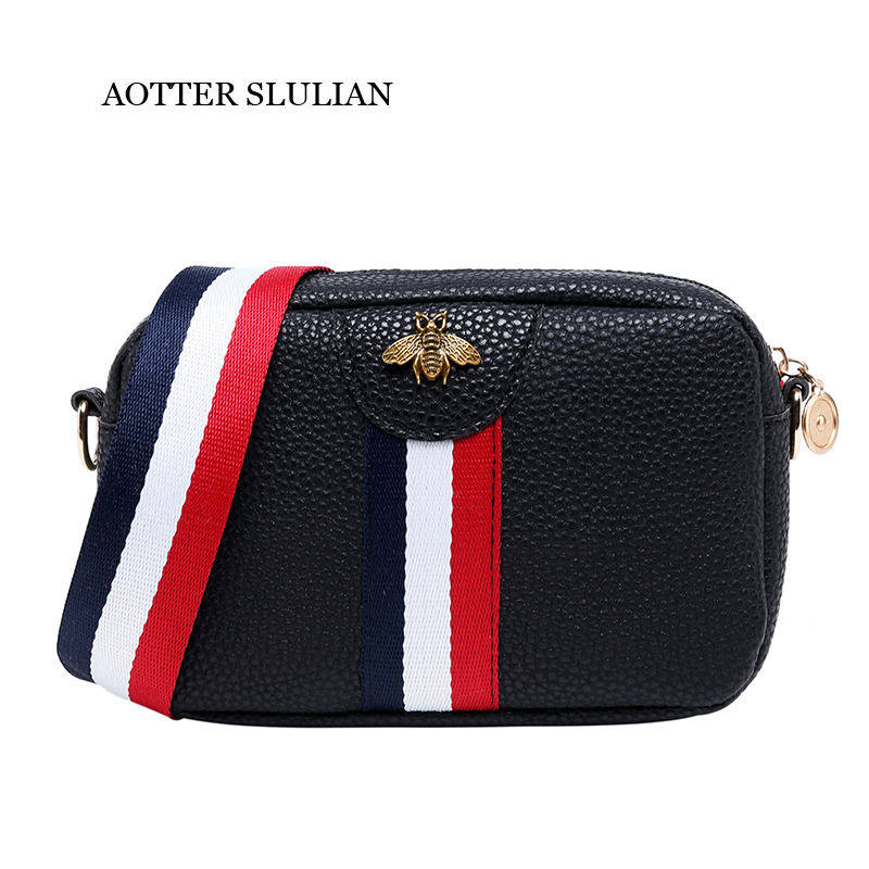 New Arrival Female Stylish Single Strap Crossbody Mini Bag For Women Phone Coin PU Leather Handbags Vintage Messenger Lady Bags