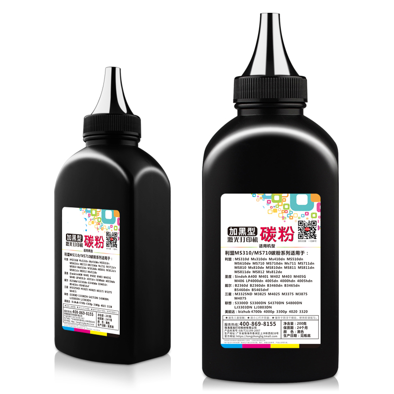 Black Toner Powder For Lexmark MS310d MS410 MS510 MS610 MS710 MS711 MS810 MS811 MS812 Laser Printer Cartridge Refill