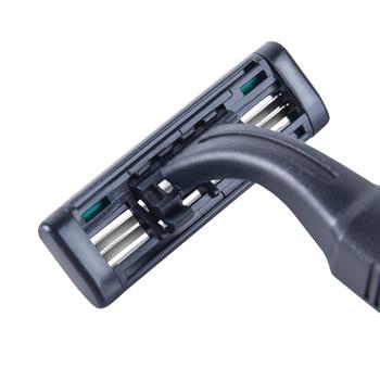 Станок для бритья RZR Iguetta GF2-1882, 5 шт черный 6
