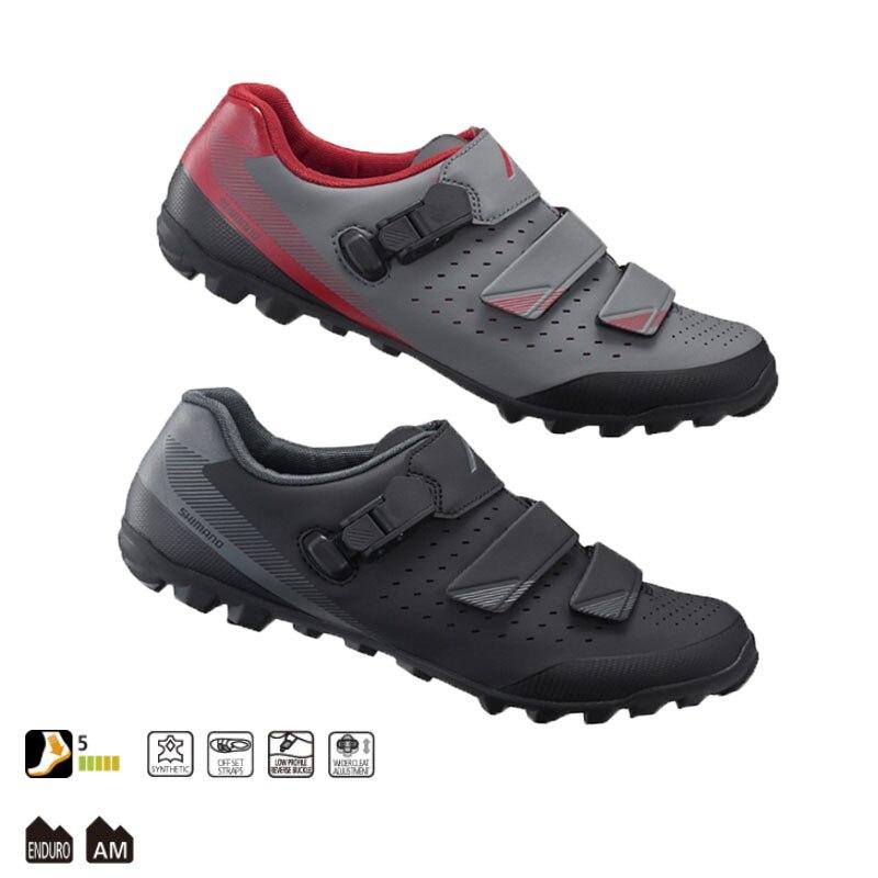 Shiman ME301 chaussures d'équitation tout-terrain de montagne semelle intermédiaire matériau caoutchouc renforcé de fibres de verre nylon dureté 5 degrés