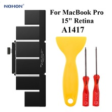 NOHON Bateria do laptopa A1417 dla Apple MacBook Pro Retina 15