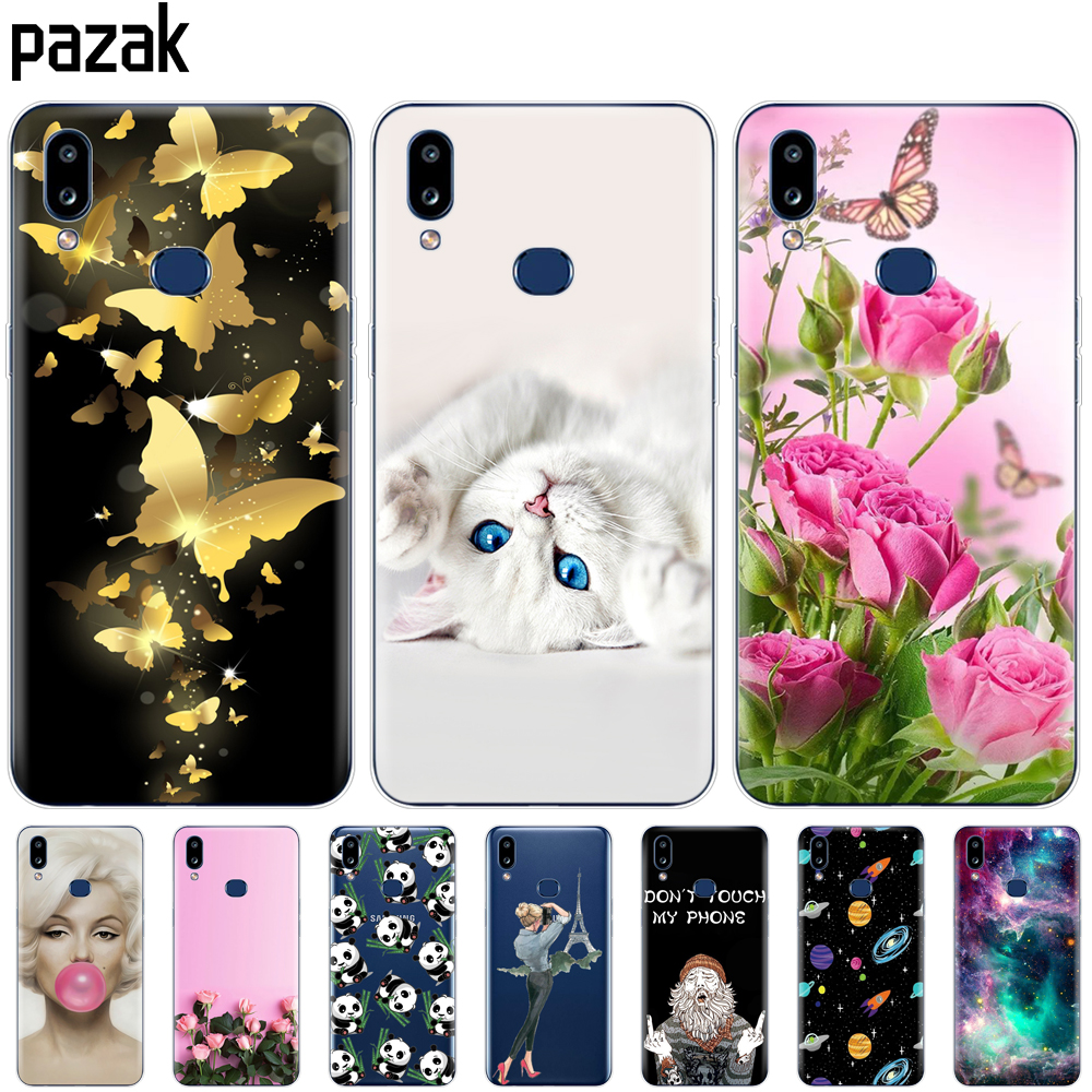 silicon Case For Samsung A10S Case Painted Soft TPU Back Phone Cover For Samsung Galaxy A10S GalaxyA10S A 10S <font><b>A107F</b></font> Coque bumper image
