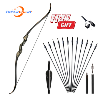 factory price archery takedown bow 26lbs training bow 66 inch archery recurve bow with bow sight and arrow rest Toparchery bow and arrow set  60inch recurve bow  wooden Archery Bow for Right Hand and left hand Takedown Bow for practice hunt