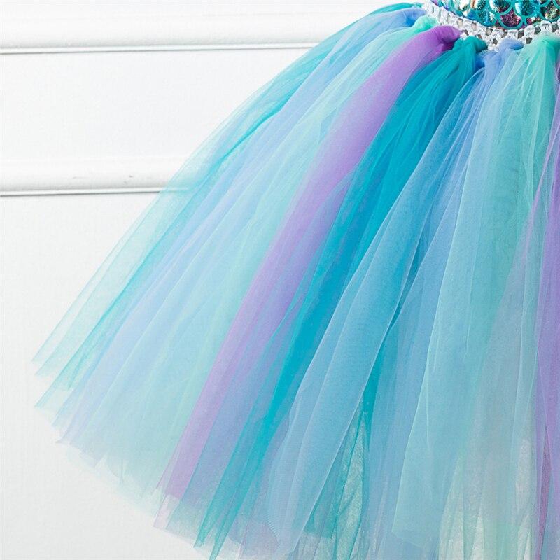 Купить новое поступление платье русалки для девочек юбка косплей костюм