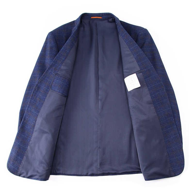 플러스 사이즈 10xl 9xl 8xl 7xl 6xl 새로운 도착 가을과 겨울 남성 정장 재킷 패션 슬림 맞는 brazer 캐주얼 블레이저 남성