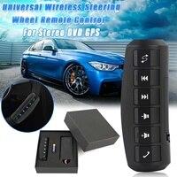 12V DC Universal Wireless Remote Control Car Steering Wheel 6 Button Remote Control Car For Stereo DVD GPS