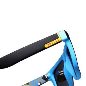 Image 4 - Viahda Polarisierte Sonnenbrille Männer Marke Design Fahren sonnenbrille Platz Gläser Für Männer Hohe Qualität UV400 Shades Brillen