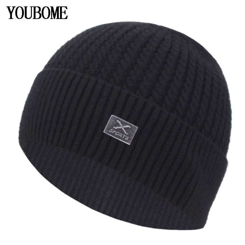 Brand Female Winter Knitted Hat Men's Winter Beanie Women Winter Hats For Men Skullies Beanies Bonnet Gorro Male Beanie Hat Cap