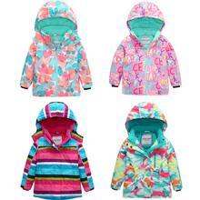 цена на HONEYKING Kids Ski Suit Winter Warm Windproof Boys Outdoor Sports Snow Jackets Girls Snowboard Coat For Ski Clothing Equipment