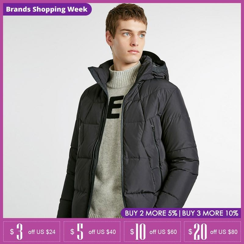 Jack Jones winter mens versatile short Hooded down Jacket Coat  218412511