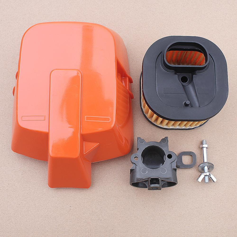HD Top Air Filter Cover Holder Intake Adpator Kit For Husqvarna 362 365 372 372XP Chainsaw 503627502, 503627501