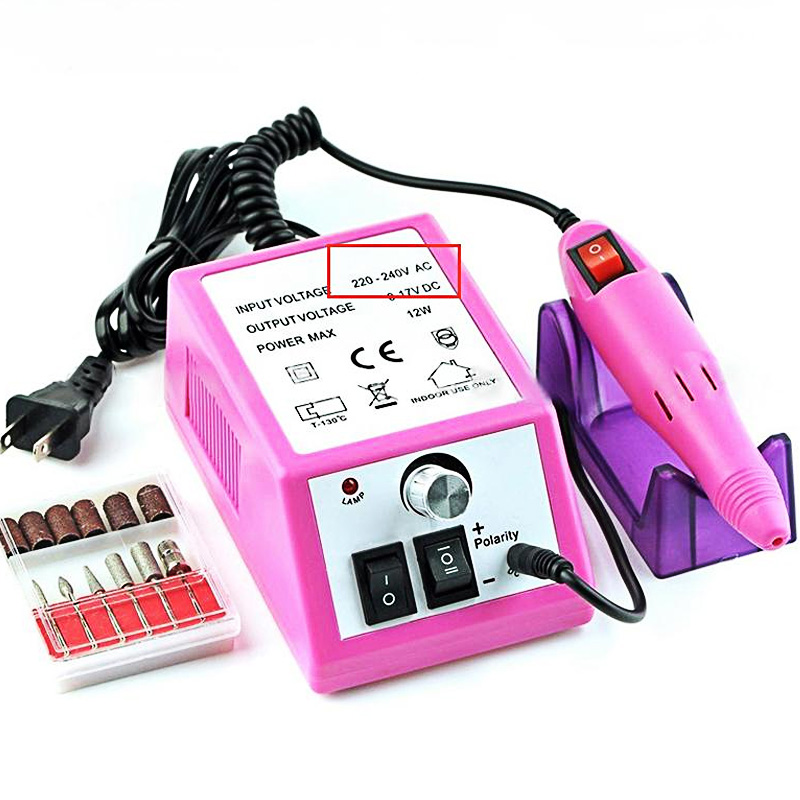 20000RPM Electric Nail Drill Manicure Machine Set For Manicure Pedicure Magnetic Mill Polisher Grinding Sanding Nail Pen Tool