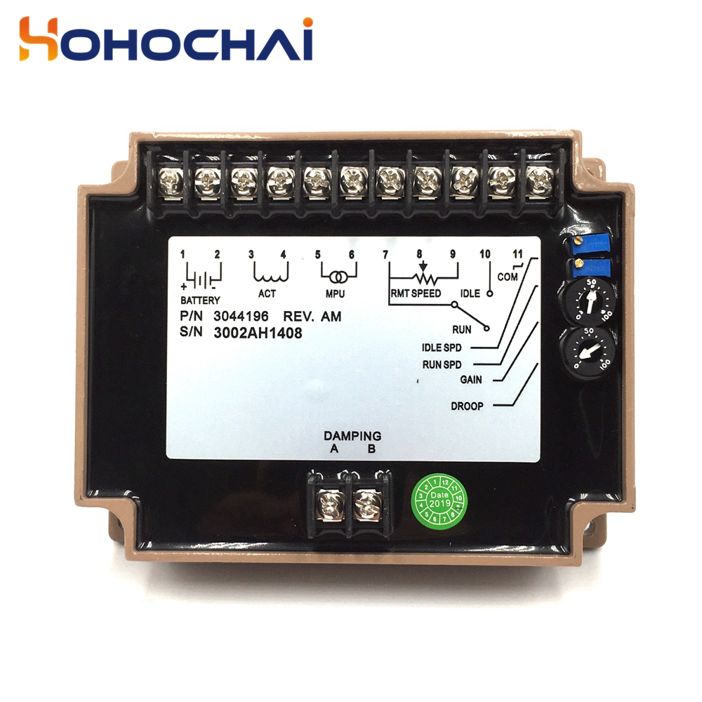 3037359 3062322 3044195 3044196 4914090 4914091 S6700E S6700H Speed Control Controller Governor for Diesel Generator Set
