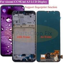 """オリジナルスーパーamoled xiaomi mi A3 lcdディスプレイタッチスクリーンデジタイザアセンブリの交換部品 6.01 """"xiaomi CC9e液晶"""