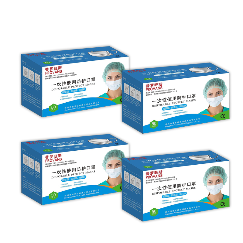 IN STOCK 50pcs N95 KF94 FFP3 Non Woven Disposable Face Mask 3 Layer Filter Safety Elastic Facial Dust-Proof Safety Masks N95