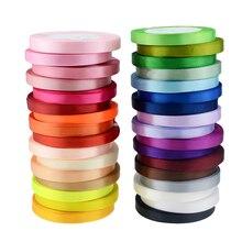 25 ярдов/рулон корсажные атласные ленты для свадьбы/рождества/вечерние украшения DIY лук ленты для поделок открытки подарки упаковочные принадлежности