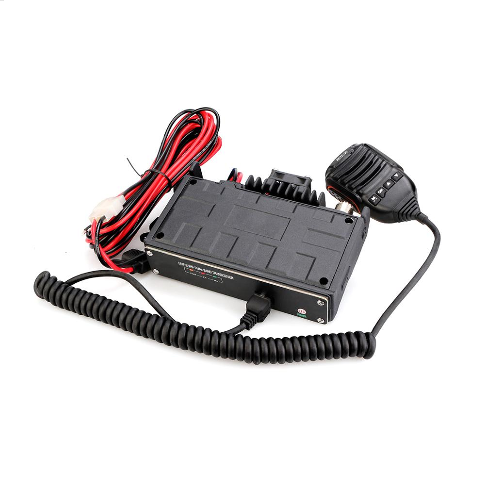 RETEVIS RT99 4G Bluetooth Mobile Radio UHF VHF Car Walkie Talkie 50W Full-featured APP Operate Realtime Positioning SL16