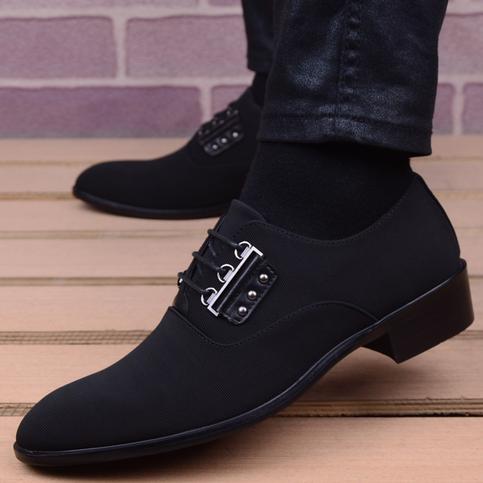 italian mens shoes fashion black men's leather moccasin pointed toe classic men wedding shoes sapatos masculino