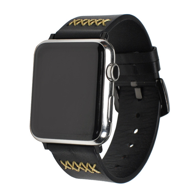 Leather pulsos band for Apple Watch 3