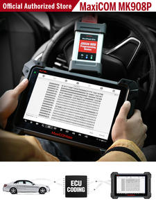 Autel OBD2 Scanner Diagnostic-Tool Programmer Automotive MK908P Maxisys All-System ECU