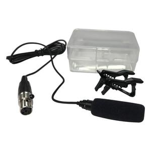 Image 5 - Широкий диапазон звукопоглощающих! Профессиональный петличный микрофон конденсаторный микрофон для Shure Беспроводной передатчик 4 Pin XLR Сделано в Китае TA4F