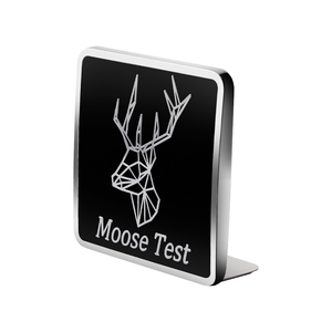 Image 3 - Metall Auto Grill Logo Emblem Moose Test Deer Aufkleber 3D Für Volvo S70 S80 S90 C30 XC40 XC60 XC70 XC80 XC90 V40 V50 Stamm Dekor