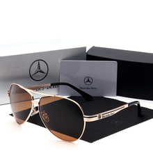 Classic Polarized Sunglasses men Vintage fashion style lente