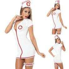 Новинка, модное сексуальное женское белье «медсестра», костюм, Униформа, костюмы косплей, нарядное платье, одежда для сна, наряды