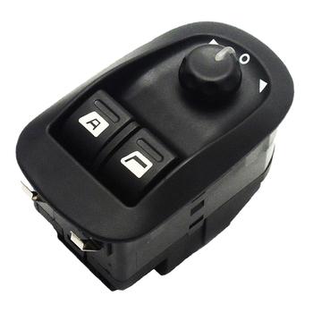 Nowy przełącznik okna elektrycznego Regulator okna elektrycznego przełącznik sterowania dla Peugeot 206 CC 206 SW 206 sedan Oe 6554WA akcesoria samochodowe tanie i dobre opinie CN (pochodzenie) Sygnał wyłącznika zapłonu Piezoelektryczny power window switch 6554WA 6554 WH 6554WH 6554 58