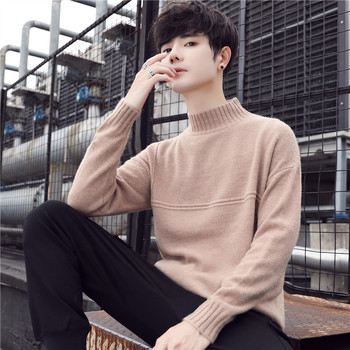 2019 sweater mens autumn and winter new Korean warm head wear men