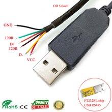 Sinforcon Half Duplex Truyền Thông Nối Tiếp Dây Cấp FTDI USB RS485 Cáp RS485 Sang USB