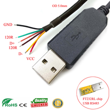 sinforcon half duplex serial communication wire end ftdi usb rs485 adapter cable rs485 to usb converter