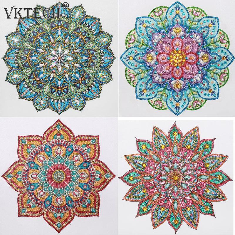 5D Сделай Сам Алмазная картина особой формы, мандала, вышивка крестиком, мозаичные наборы, алмазная вышивка, ремесло, украшение для дома, наст...