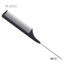 Peignes en métal, épingle à queue, pour coiffeur, à queue noire, pour coiffer, 1 pièce