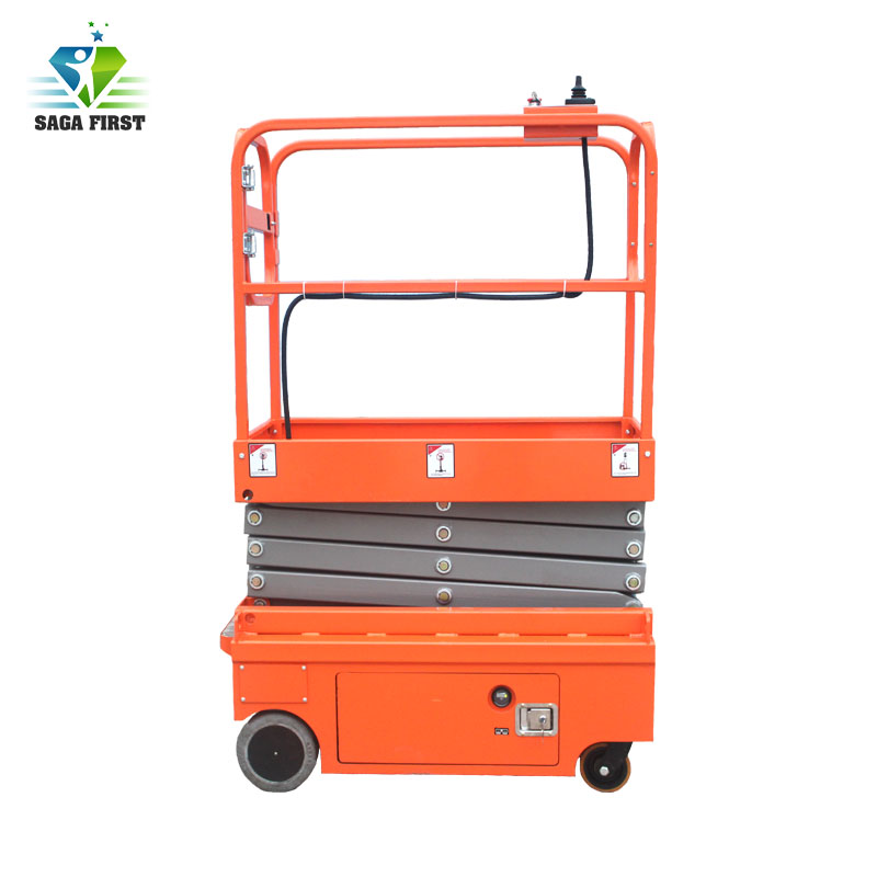 Mini Manual-Acting Boom Lift Self-Propelled Hydraulic Scissor Work Table