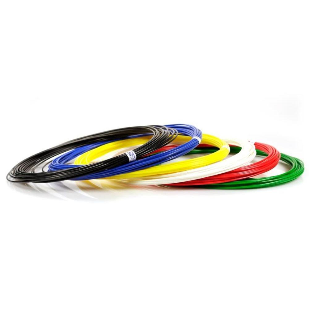 A Set Of Plastic UNID For 3D Handles: Abs6 (10 M Each. 6 Colors)