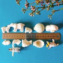 Пингвин/ледяной домик/полярный медведь/миниатюрный/милый/сказочный садовый гном/искусственный декор/поделки/кукольный домик/фигурка/игру...