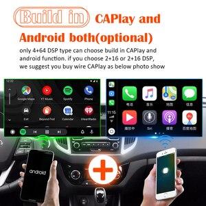 Image 4 - PX6 4G araba radyo 2 din Android 10 multimedya DVD OYNATICI autoradio sesli GPS Mercedes Benz CLK W209 W203 W463 w639 Viano Vito