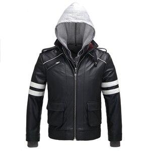 Image 2 - Высококачественный новый костюм для косплея Алекса Мерсера, вышитая куртка, пальто из искусственной кожи, костюмы на Хэллоуин для женщин и мужчин