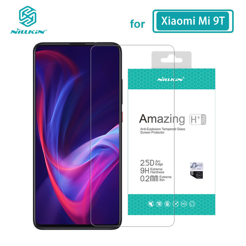 Tempered Glass For Xiaomi Mi9T Mi 9T Mi9 T Pro Nillkin Amazing H+Pro 0.2MM 2.5D Arc Screen Protector For Xiaomi Mi 9T Pro Glass