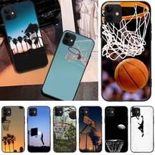 OFFeier Basketball basket NB  DIY Luxury Phone Case For iPhone 5 6 6S 7 8 plus X XS XR XS MAX 11 11 pro 11 Pro Max offeier love and hope girl diy luxury phone case for iphone 5 6 6s 7 8 plus x xs xr xs max 11 11 pro 11 pro max