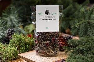 """Tea Raspberry and душицы ecovient """"Crimson Ivan tea loose tea loose tea tea herbal tea"""