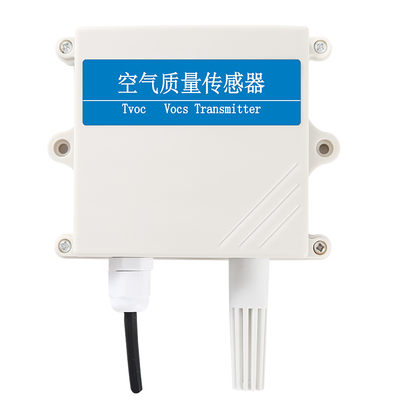 TVOC Air Quality RS485 4-20ma Sensor VOCS Transmitter Industrial Exhaust Gas Leakage Environmental Monitoring