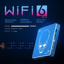 Beelink-reproductor multimedia gt-king PRO, WIFI 6, nueva versión, dispositivo de TV inteligente, Audio Dolby, DTS, escucha, 4K, HD, Amlogic, S922X-H, Android 9,0